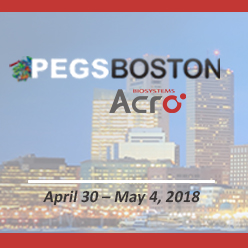 14th PEGS Boston – The Essential Protein Engineering Summit