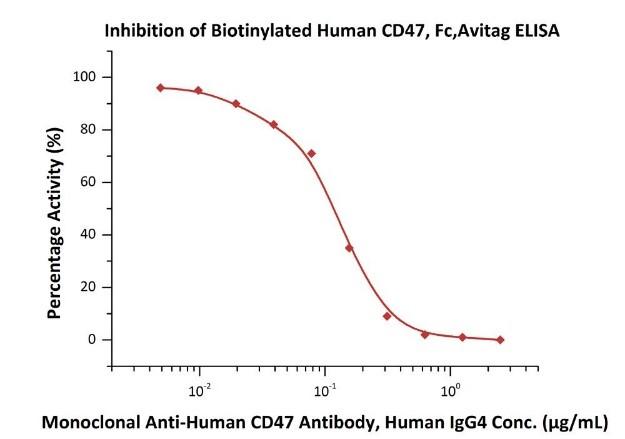 CD47中和抗体による結合阻害